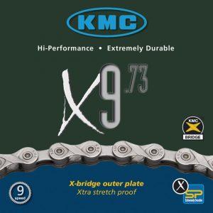 """LANAC KMC X-9 9BR. 1/2""""X11/128"""" 116ČL. 6.6MM"""
