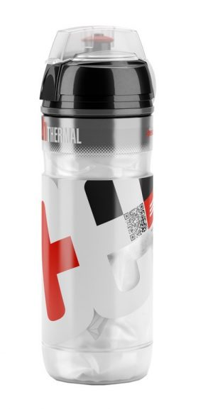 BIDON 500ML TERMO ELITE ICEBERG LOGO RED