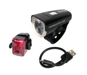 LED LAMPA SIGMA ROADSTER USB K-SET + MICRO USB KABEL