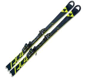 FISCHER SKI SET RC4 WC SC RT YELLOW BASE + RC4 Z12 PR 165CM