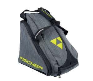 FISCHER TORBA SKIBOOTBAG ALPINE FASHION GREY-YELLOW
