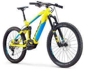FUJI e-bike BLACKHILL 27,5+ 1.1 EVO LT ŽUTI - 2019