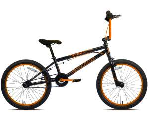 BMX 20 CAPRIOLO TOTEM BLACK-ORANGE