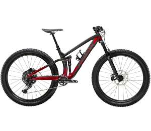TREK FUEL EX 9.8 RAW CARBON / RAGE RED - 2020