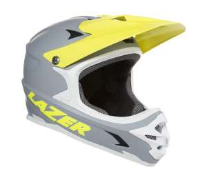 KACIGA FULLFACE LAZER PHOENIX GREY FLASH YELLOW